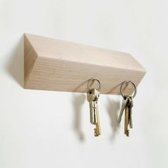 rangement de clés or