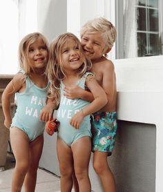 Cute Kids, Cute Babies, Baby Kids, Twin Baby Girls, Beautiful Children, Beautiful Babies, Tatum And Oakley, Mädchen In Bikinis, Outfits Niños