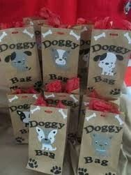 doggie bags for favors?