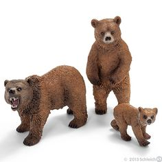 Grizzly Bears Schleich