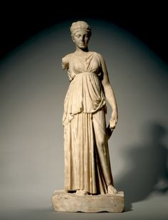 Dancing Lady, c. 50 BCE. Marble Greece, Alexandria (?) - Cleveland Museum of Art
