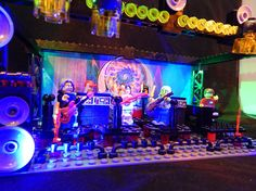 Grateful Dead Lego STAGE Jerry Garcia Phil Lesh Bob Weir OVER