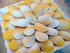 Dragon's Kitchen: Orange & Honey Madeleines