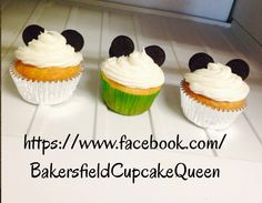 Client and mother to be loved their cupcake samples .. 30 cupcake ordered for June 6th Mickey Mouse baby shower!!! Welcoming baby JERIKCO!  Link in bio under name! Message me orders and details here or via Facebook!!  have a great day dolls