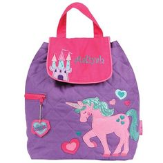 Personalised Child/'s Butterfly School Bag College Laptop Bag add a name free