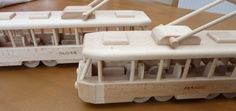 Dárky pro řidiče tramvají, šalin, električek - Dřevěné hračky, Letadla, Autíčka, Tanky, Traktory