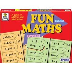 Fun Maths Jigsaw Puzzle:A game of first sums which introduces children to simple addition and subtraction.