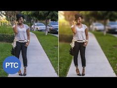 How To Blur Backgrounds In Photoshop - Shallow Depth of Field Effect Using Lens Blur - YouTube