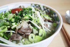Davon hätte ich jetzt gern eine Schale Pho Bo: Vietnamesische Nudelsuppe mit Rindfleisch