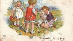 Our Story Book growing up! Published by Birn Brothers circa Vintage Easter, Vintage Holiday, Easter Art, Easter Bunny, Happy Easter, Vintage Greeting Cards, Vintage Postcards, Johann Moritz Rugendas, Old Cards