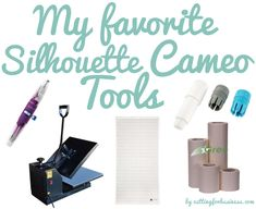My Favorite Silhouette Cameo Tools by Cutting for Business