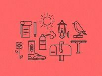 Everyman Icon Set — Designspiration