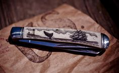 CXXVI Scrimshaw Knife