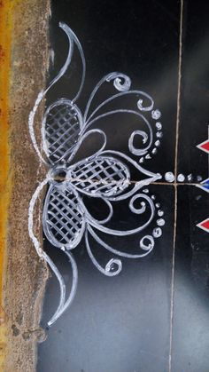Rangoli designs awe-inspiring designs for your home Source by solidmonnie. Rangoli Side Designs, Rangoli Designs Latest, Free Hand Rangoli Design, Small Rangoli Design, Rangoli Patterns, Rangoli Ideas, Rangoli Designs Diwali, Rangoli Designs Images, Rangoli Designs With Dots
