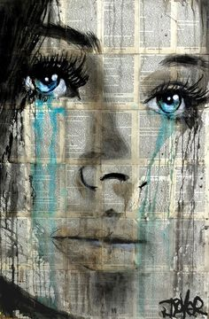 Loui Jover - Drawings for Sale Frida Art, Newspaper Art, Arte Pop, Portrait Art, Face Art, Painting & Drawing, Watercolour Painting, Amazing Art, Illustration