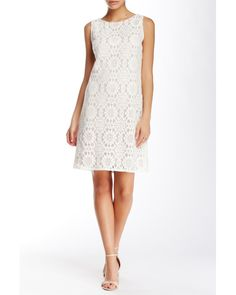 Nordstrom rack white lace dress