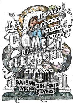 LA COMÉDIE DE CLERMONT, SAISON by French duo Antoine + Manuel