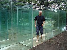Jeju Island (South Korea) Glass maze.