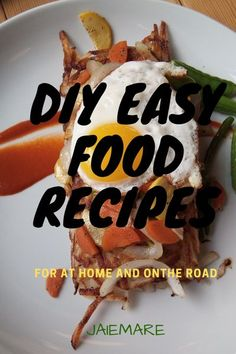 Hey there travel foodie. Take your favorite meals with you on the road with these 5 delicious recipes. jaiemare.com Inspiration | healthy meals | easy recipes | food recipes | breakfast ideas| lunch ideas | dinner ideas #recipes #easyrecipes #homecook #foodie #jaiemare Easy Delicious Recipes, Unique Recipes, Easy Healthy Recipes, Healthy Meals, Yummy Food, Dinner Healthy, Healthy Food, Diner Recipes, Breakfast Recipes
