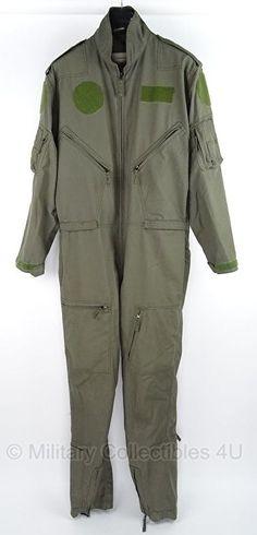 KLu Luchtmacht piloten overall - maat 54 / 188 - origineel