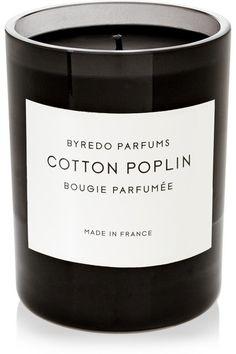 Byredo Poplin Cotton Scented Candle | Net-A-Porter