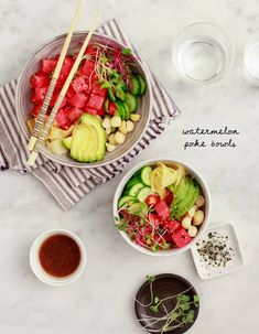 There's a new poke bowl shop in town called Poke Poke, and we're just a little obsessed. Jack and I have eaten there at least 2x per week since it opened. In fact, as I sit to start writing this post, … Go to the recipe...