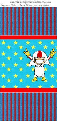 Etiquetas para Imprimir Gratis de Kick Buttowski.   Ideas y material gratis para fiestas y celebraciones Oh My Fiesta!
