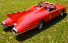 Weird Cars, Cool Cars, Automobile, Futuristic Cars, Unique Cars, Vintage Design, Car Pictures, Car Images, Images Photos