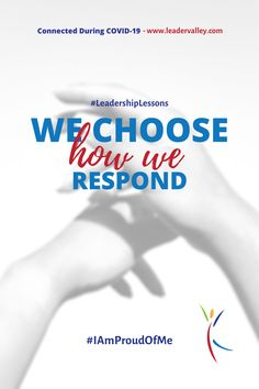 It's not always easy, but we can take a deep breath and choose how we respond.