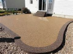 Bon Pebble Stone Patio   Bing Images