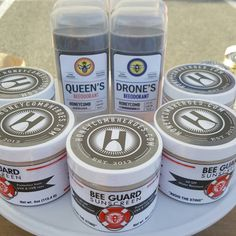 Deodorant and sunscreen from honeycomb heroes