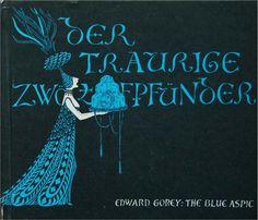 Edward Gorey-THE BLUE ASPIC