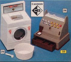 I had the washing machine & my sister had the cash register..fond memories
