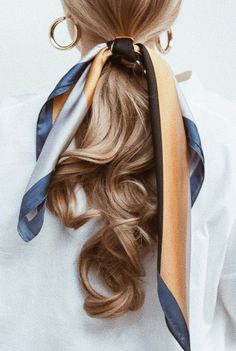 Hair Hair The post Hair appeared first on Geflochtene Frisuren. Retro Hairstyles, Scarf Hairstyles, Daily Hairstyles, Summer Hairstyles, Braided Hairstyles, Teenage Hairstyles, Stylish Hairstyles, Hairstyles Pictures, Hairstyles Videos