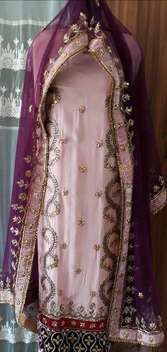 Totally heavy hand work pure fabric punjabi suit for wedding season