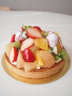 フルーツタルト tarte aux fruits