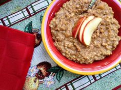 Apple Pie Crock Pot Oatmeal - Real Food Outlaws