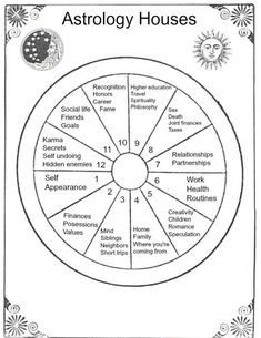 Star School Lesson 4 The Astrological Houses The Tarot Lady is part of Astrology - We're moving on to the astrological houses in this lesson of Star School The 12 astrological houses represent different areas + experiences of your life