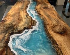Liquid Glass Epoxy, Wood Resin Table, Wood Tables, Coffee Table Desk, Dining Table, Resin Furniture, Wooden Phone Case, Resin Artwork, Led Light Strips