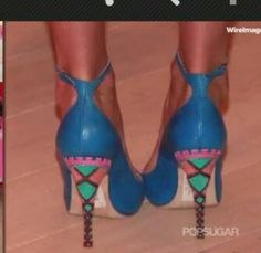 DIY painted heel