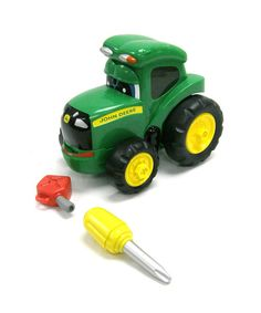 Take a look at this Fix It Up Johnny Tractor on zulily today!
