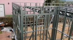 Light Steel Frame Designer for SketchUp. Details and cost light steel frame structure in minutes Steel Frame House, Steel House, Building Systems, Building Design, Metal Building Homes, Building A House, Steel Framing, Steel Structure Buildings, Steel Frame Construction