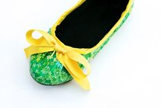 Duct Tape Shoes (ok, so you need a real shoe to cover, but totally cute way to jazz up a plain flat for a little girl!)