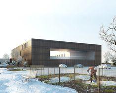 LAN architecture designs minimum security prison in nanterre