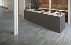 Olympia Tile Larix Grey Wide Plank I Would Run Something Like This Through The