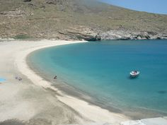 Complete solitude in Andros Greece Andros Greece, Greek Islands, Solitude, Planet Earth, Planets, Magic, Candy, Beach, Water