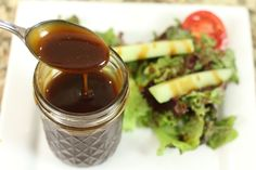 Homemade Balsamic Vinaigrette by Rockin Robin Rockin Robin's Cooking Mexican Recipes
