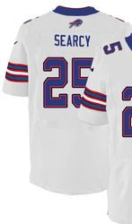 "$78.00--Da'Norris Searcy White Elite Jersey - Nike Stitched Buffalo Bills #25 Jersey,Free Shipping! Buy it now:click on the picture, than click on ""visit aliexpress.com"" In the new page."
