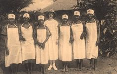 Images from the History of Medicine (NLM) Title:Nurse-midwives of the School of the Red Cross Pawa, Belgian Congo