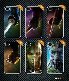 Teenage Mutant Minja Turtles HEND-Guardians Of The Galaxy Phone Case-iPhone Samsung Galaxy Note 3 Awesome Case Galaxy Phone Cases, Iphone Phone Cases, Iphone 4, Galaxy Note 3, Guardians Of The Galaxy, Teenage Mutant, Turtles, Product Launch, Samsung